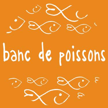 logo banc de poissons école  de développement personnel formations